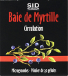Baie de myrtille circulation