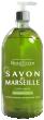Beauterra savon liquide de marseille menthe citron flacon pompe